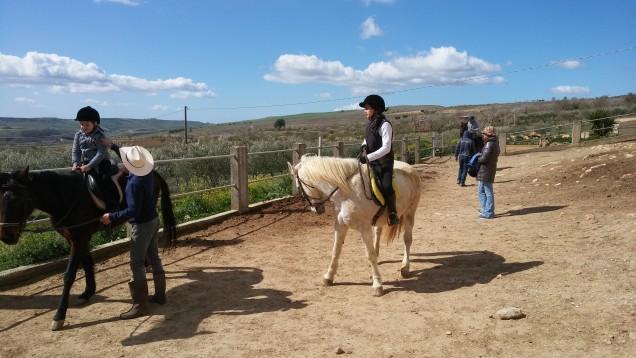 Pronti per la passeggiata a cavallo