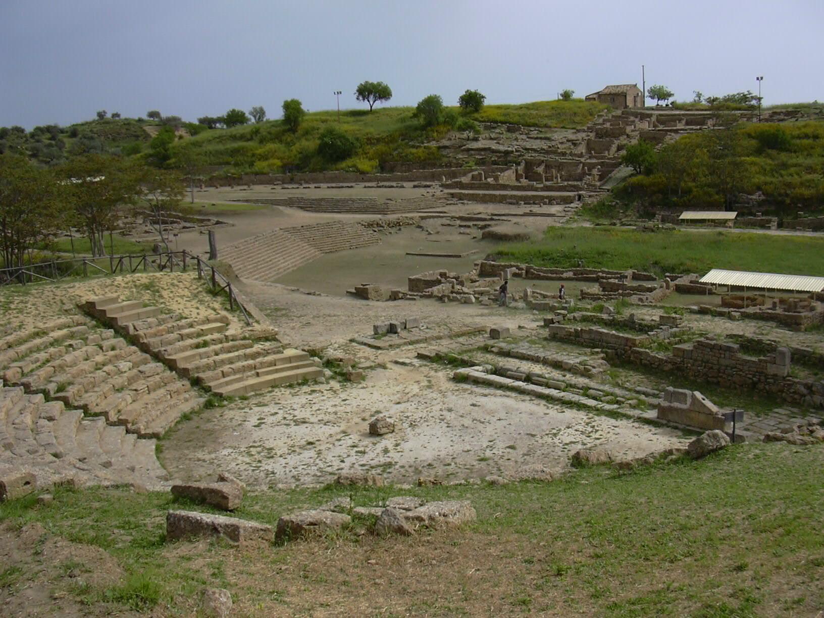 Theater of Morgantina