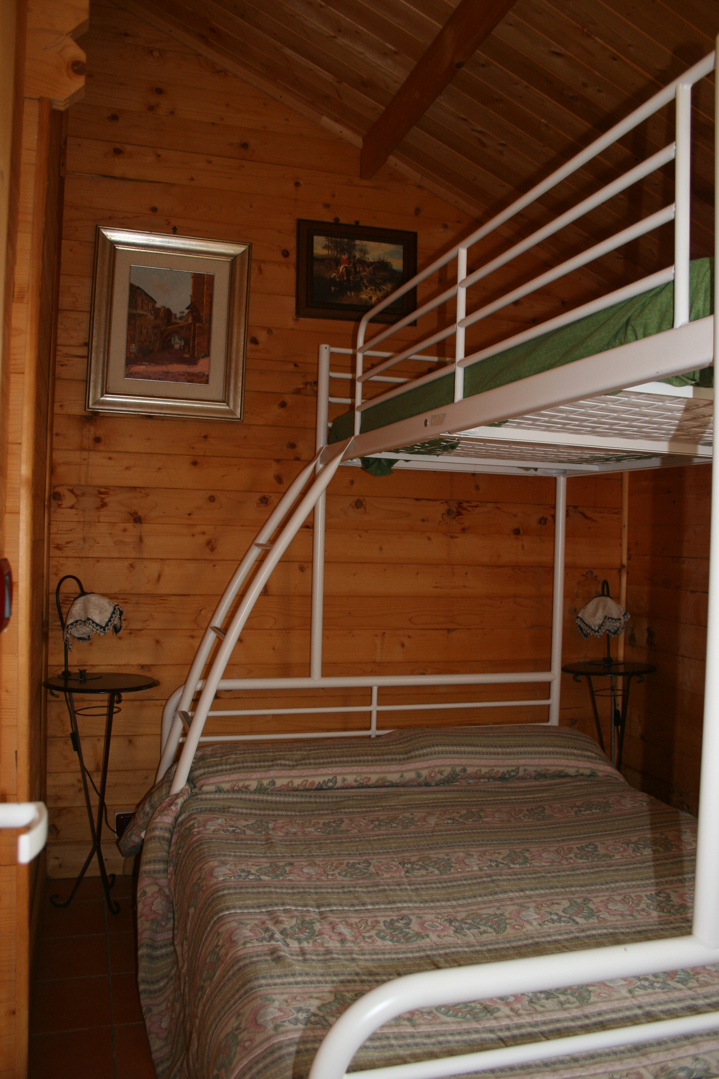 Letti chalet Gelso Bianco