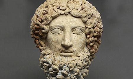 Hades' head