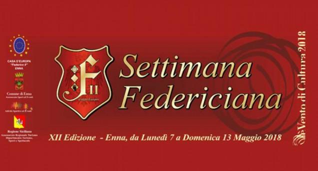 Logo Settimana Federiciana 2018