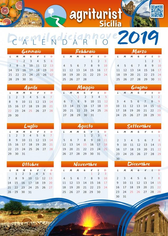 Calendario Agriturist 2019